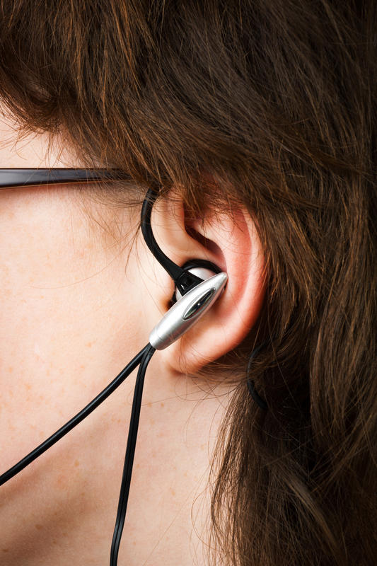 What is a solution for eye glasses irritating skin behind the ears where the ear piece rests?