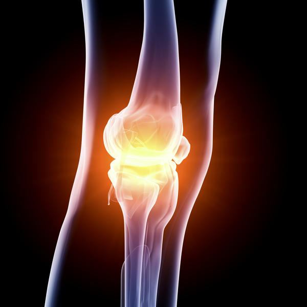 What is the best way to get rid of scar tissue is your knee?