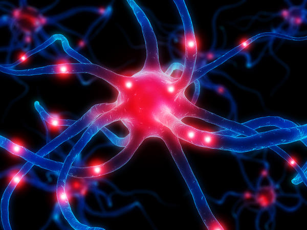 Can depression cause slowed neurons in the brain or is it the result?
