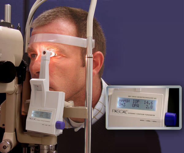 How  often should a healthy person  see an eye specialist?