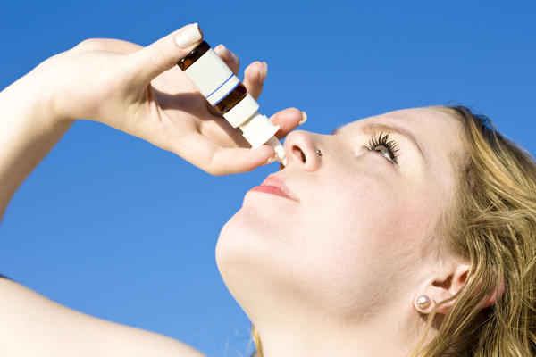 How long should you take steroid nasal spray for?