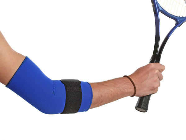 How should I treat tennis elbow?