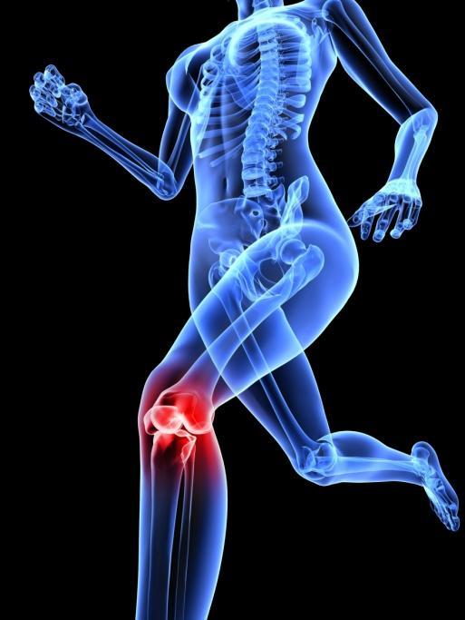 Every morning I wake up with sharp knee pain. It doesn't matter which side I lay on it always hurts even though it goes away after walking.?