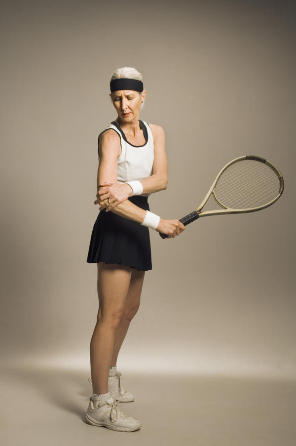 Tennis elbow cold wraps or heat?