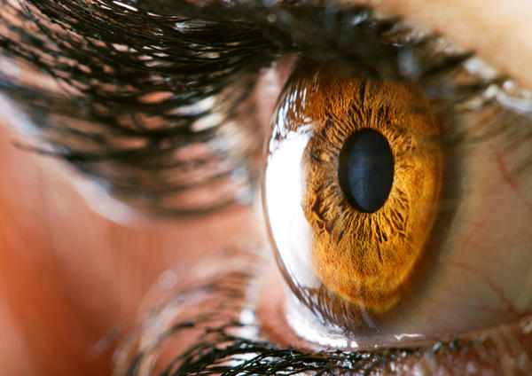 What can I do about a corneal abrasion?