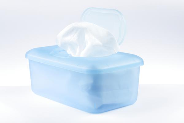 How effective are baby wipes at killing germs on surfaces?