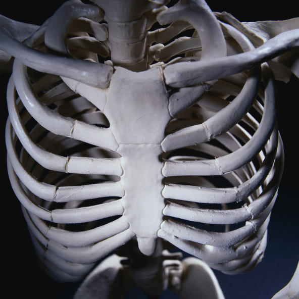 How long can bone tumor in rib cage stay undetected.
