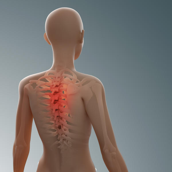 What can make a fractured spine worse?