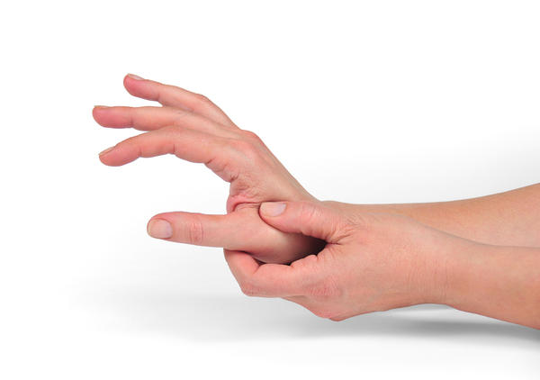 What kind of exercise can help stabilize hand tremors?