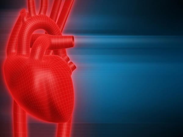 What is triggering heart rate for a heart attack?