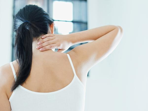 "Could you explain what is ""neck weakness"" and what does it feel like?"