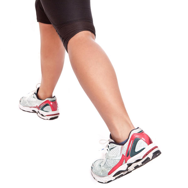 Lump below one knee, oval shape, paper clip size. Soft n moveable. No pain. Intermittent tightness in same calf. Healthy n 33.Runner for while-stopped?