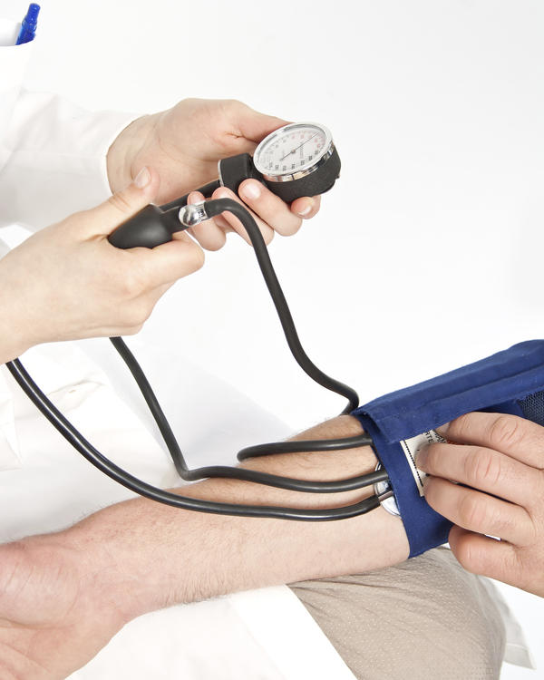 What is the average age for high blood pressure in males?