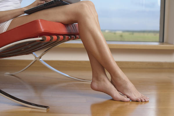 How do you clear dark spots on your legs from previous sores?