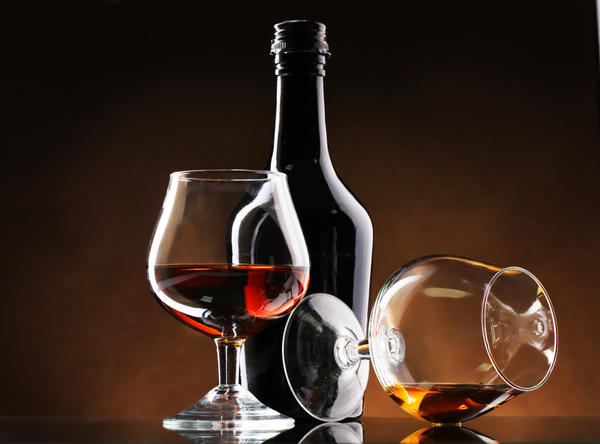 Can alcohol free wine effect the liver?