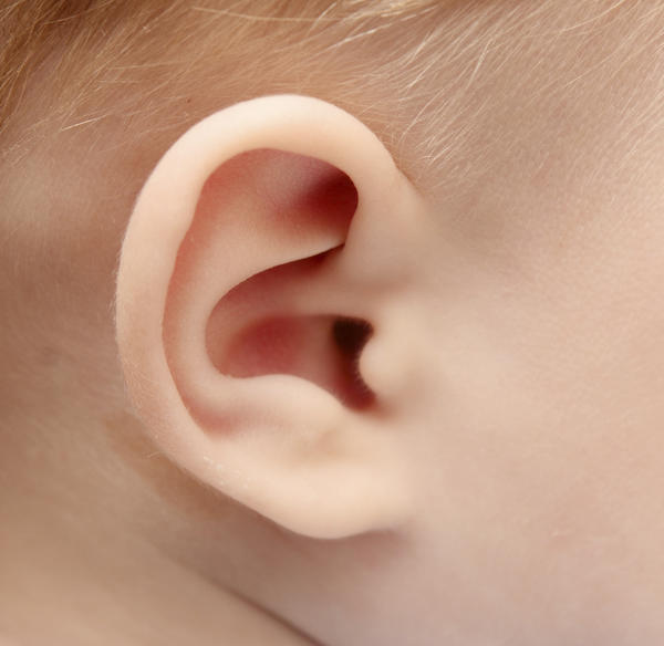 What is the large lump that forms behind your ear called & how to heal it?