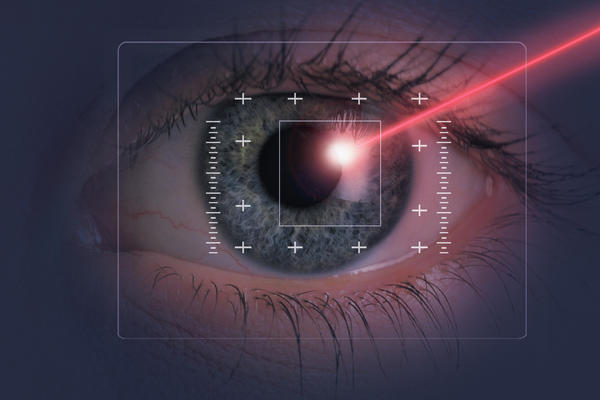 Is laser treatment for correcting vision advisable at the age 45 years or after?
