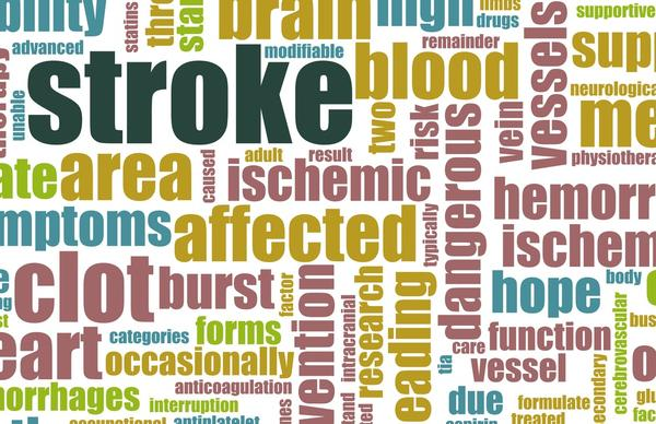 What causes speech loss even when there is no sign of stroke?