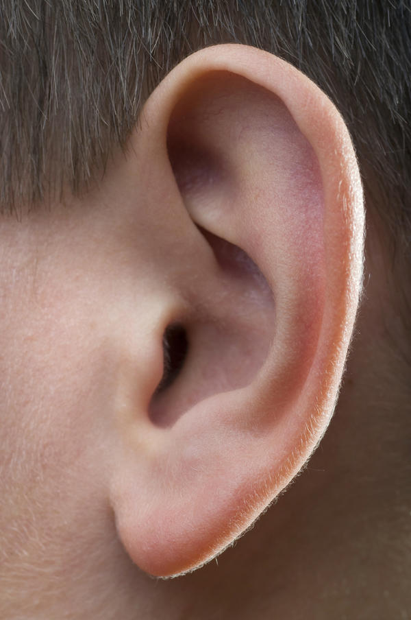 What are the common symptoms of a ear infection in adults?