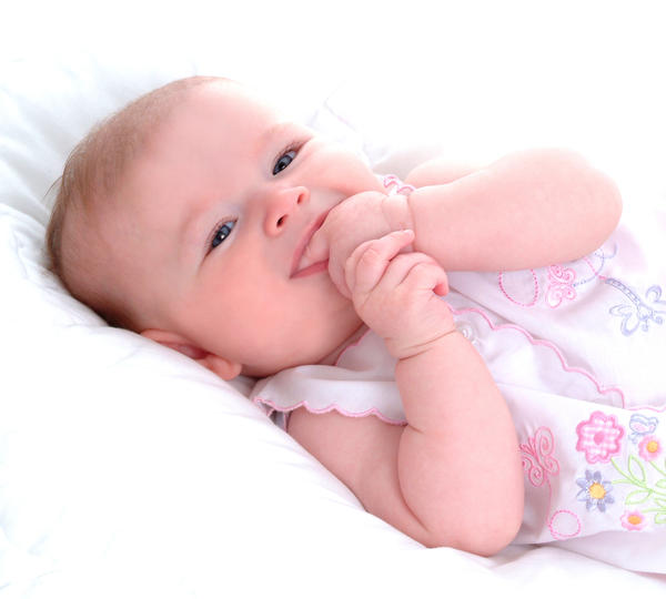 How long does irritability associated with teething last?