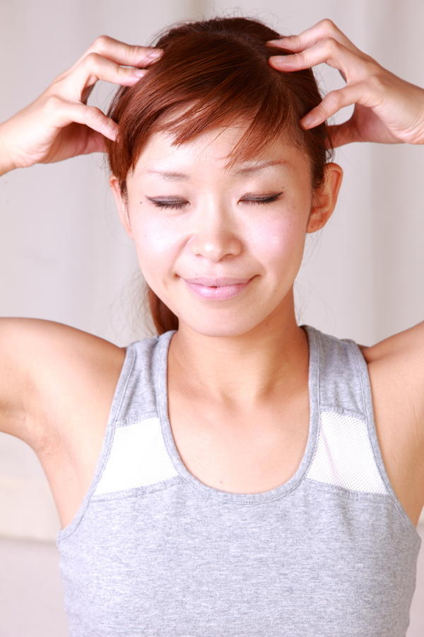 How can you cure an itchy scalp from radiation treatment?