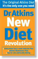 What are considered the common vegetarian food/ food products for the Atkins diet?