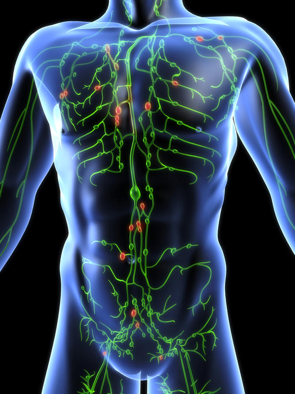 Condition related to the lymphatic system?
