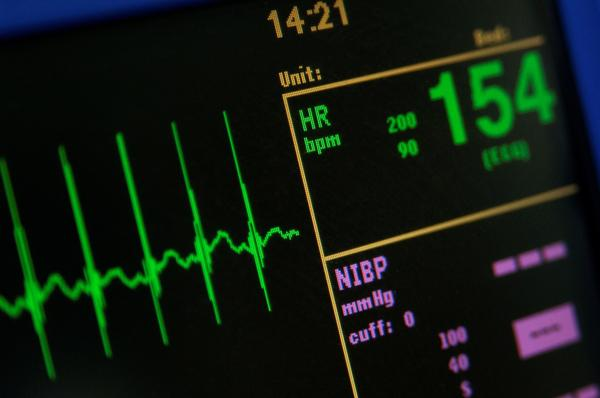 Nausea rapid heart beat high blood pressure?