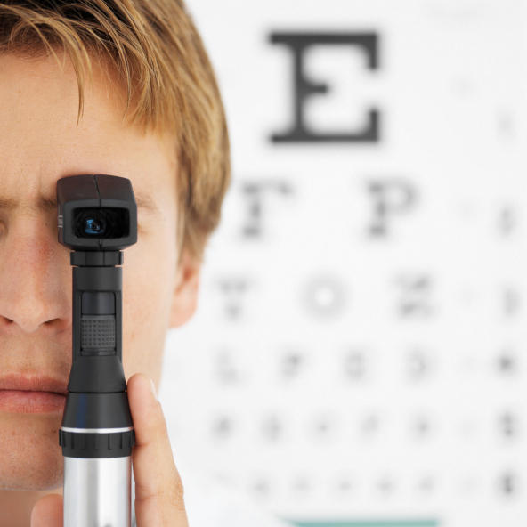 What does a general ophthalmoscopy detect?