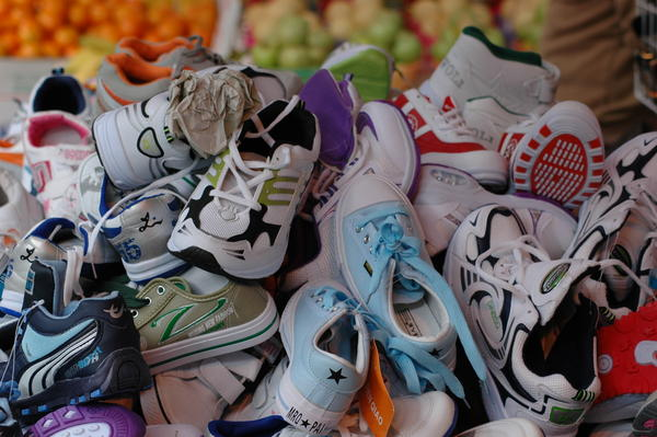 Can shoe size predict future height?