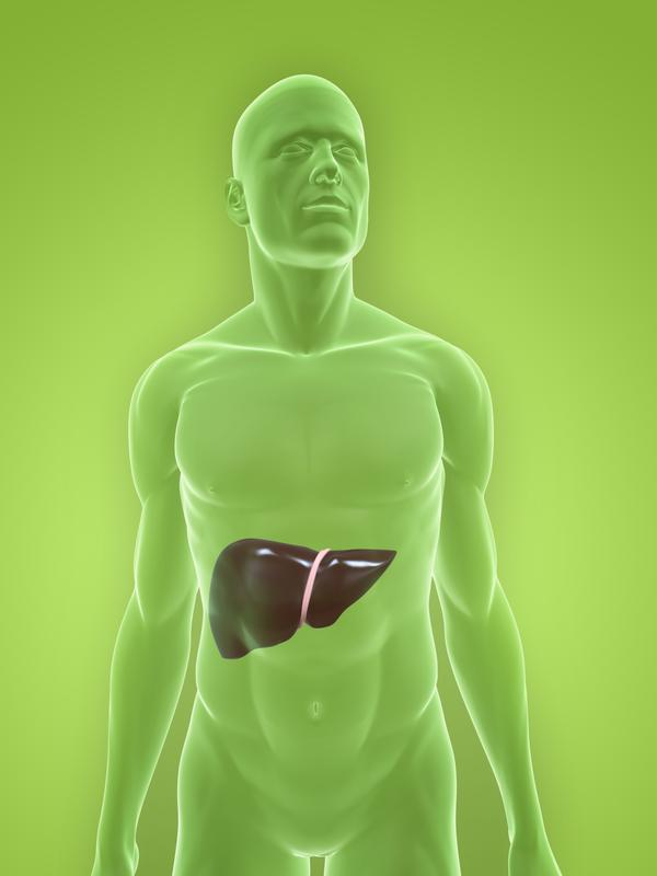 What are the known causes for enlarged liver. Haemangioma & gall bladder not well distended?