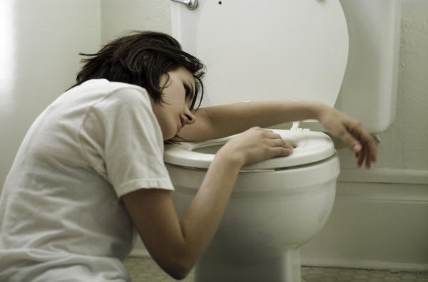 What do you think I should do after vomiting bile?