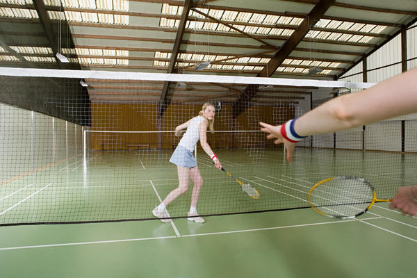 Is badminton a good sport for hyper-mobility syndrome?