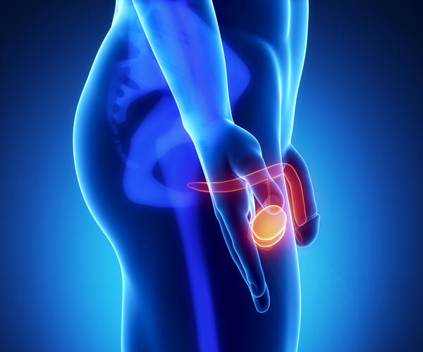 What are the causes of severe flank pain, testicle pain, and bladder pain while urinating in a male?