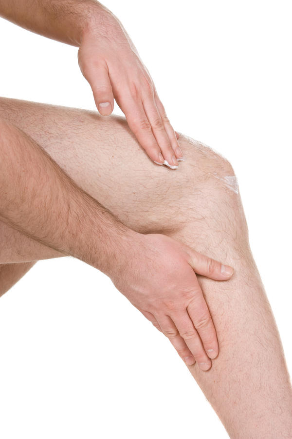 Feeling pain in nerve just above right leg knee and sometimes in left leg knee.