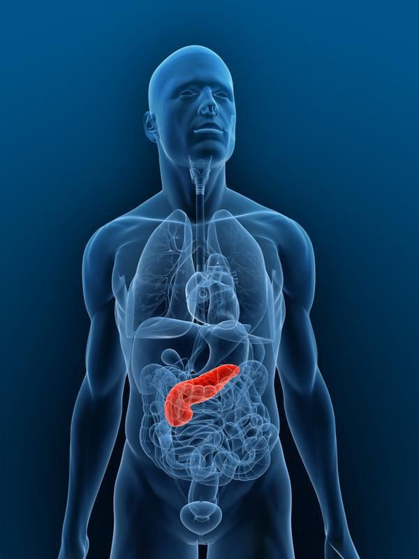 How can you diagnose pancreatic necrosis due to chronic pancreatitis?