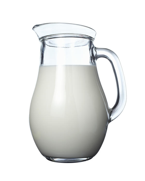 Assuming I drink milk after a full meal, will milk with tricalcium phosphate be broken down and absorbed as easily as milk with calcium carbonate?