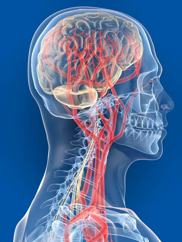 Could it be possible for a blood clot from the wound to travel to his brain and cause a stroke?