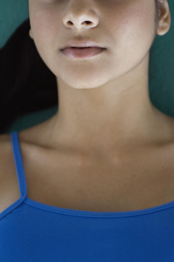 How common is it for somebody to get neck swelling?