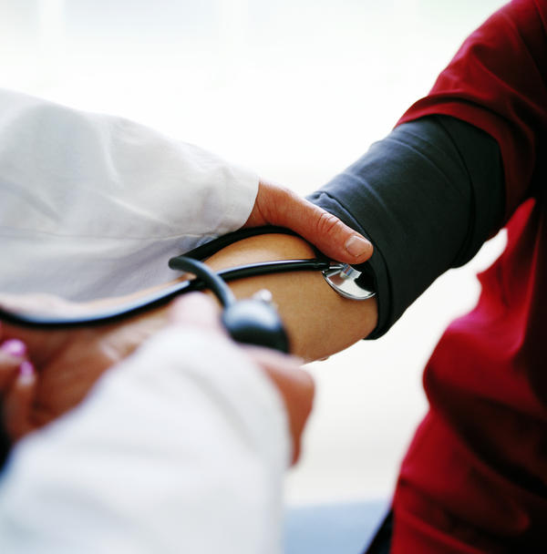 What is the cause of low blood pressure, two blood transfusions?
