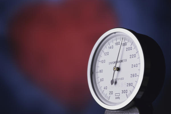 How can hypertension/high blood pressure cause bradycardia?