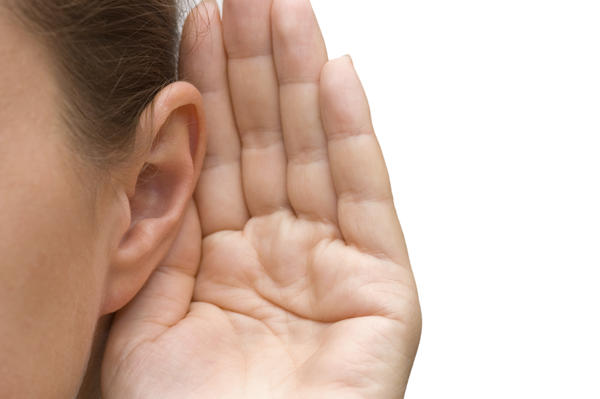 What causes the hearing loss presbycusis?