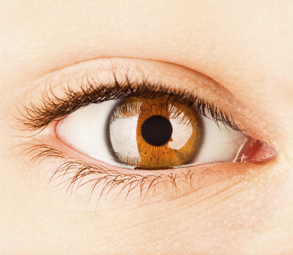 Could a cornea eye abrasion heal by itself?