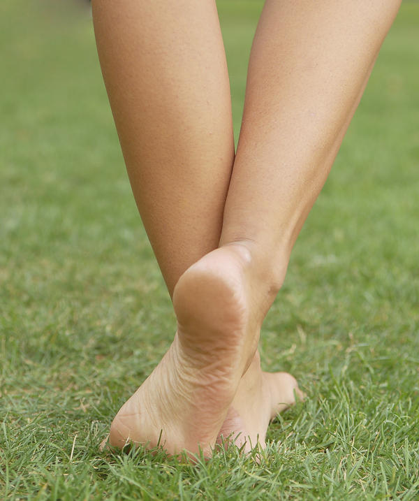 Hi, I have moderate pain in my heel, calf and tight in my right leg since I had a heel injury and several severe cramps last year. What should I do?