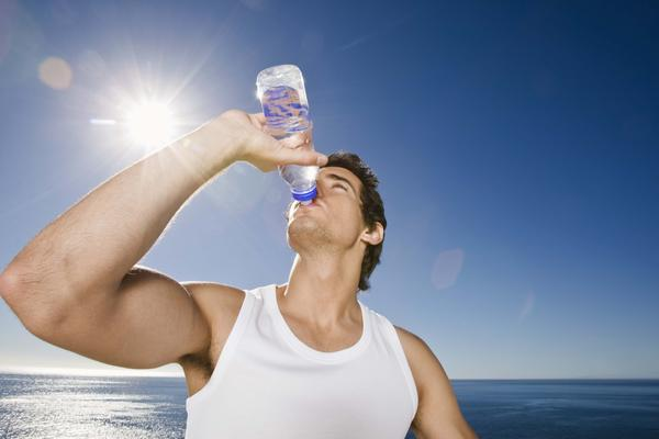 Why does drinking sea water cause dehydration?