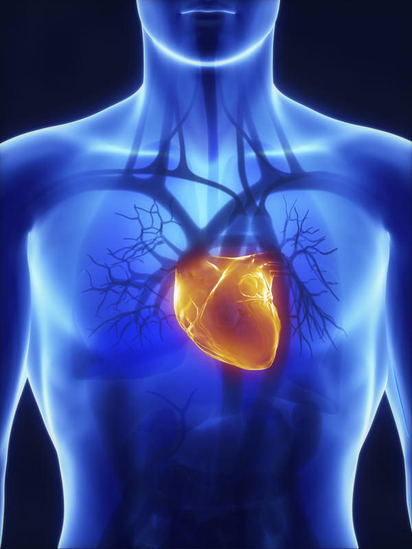 How would coronary heart disease affect routine measurements of blood pressure?
