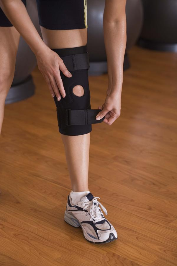 What makes a torn ligament better?