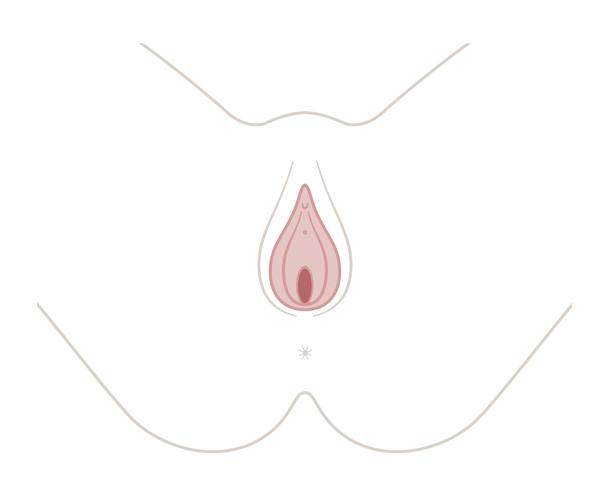 Why does it look like I have an extra bit of skin on my vagina opening? Wen I tense it goes into a flower shape? Wierd question sorry just worried