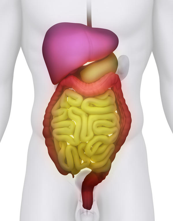 What are the most causes that a person recommended for large intestine resection?
