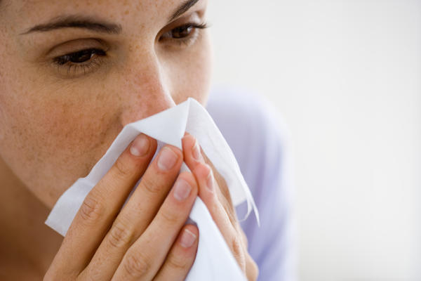 How can I clear a stuffy nose?